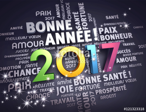 la municipalité vous souhaite une bonne année 2017