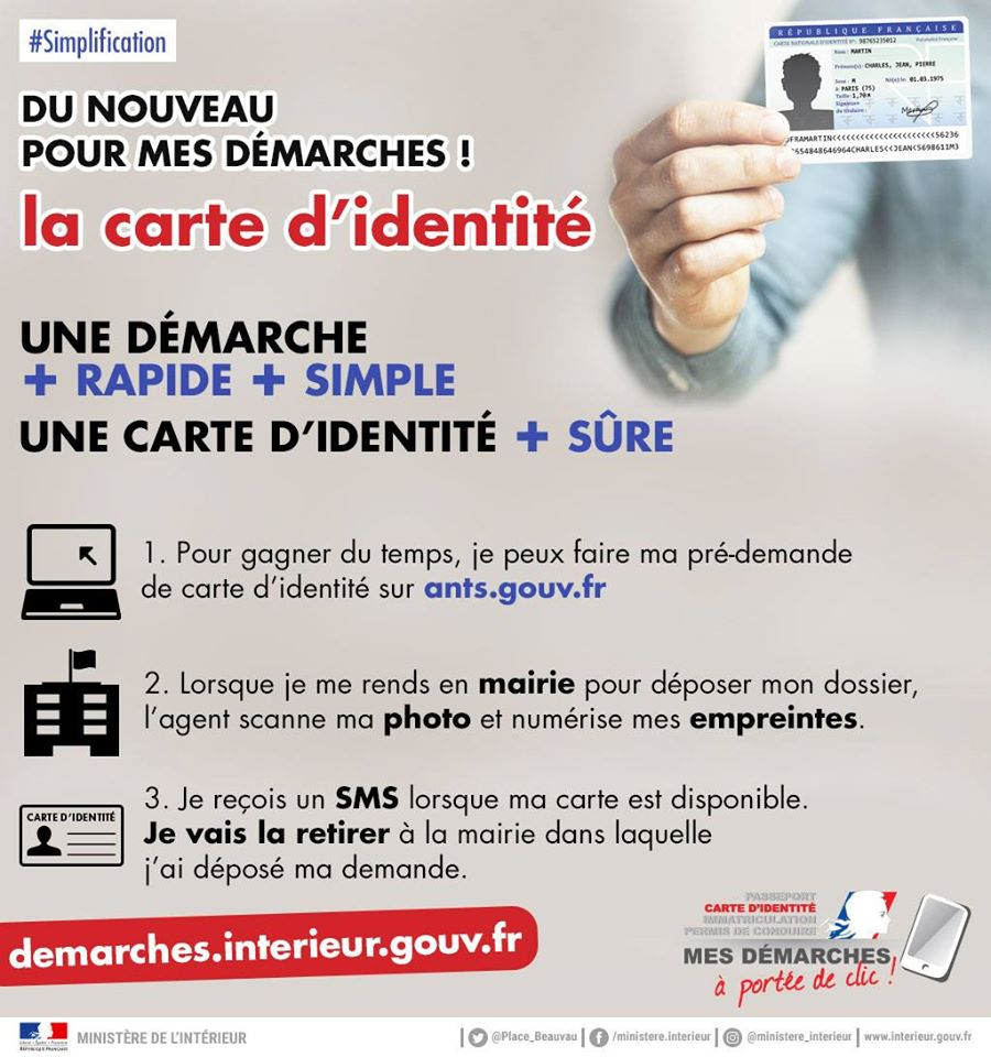Carte nationale identite for Ants interieur gouv fr passeport