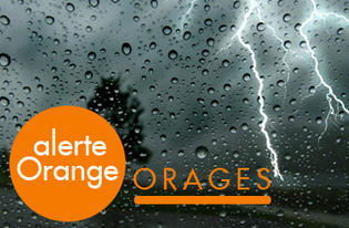 ALERTE ORANGE CE SOIR