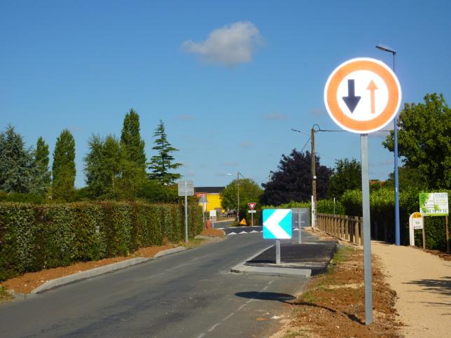 Aménagement de la RD88 route de St Aubin la Plaine