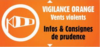 ALERTE ORANGE POUR VENTS VIOLENTS AUJOURD'HUI A PARTIR DE 16H ET JUSQU'A 21H