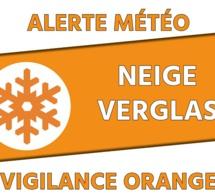 Alerte orange météo le jeudi 11 février 2021